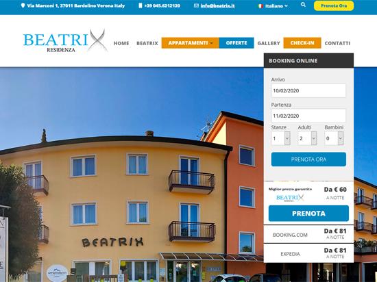 Appartamenti Beatrix Bardolino Gardasee