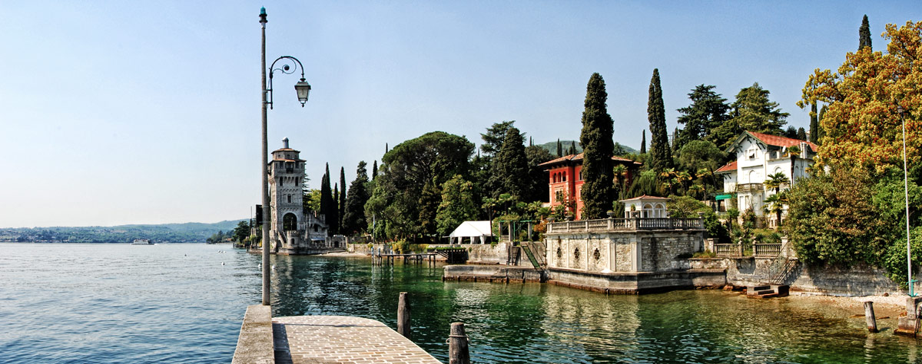 Gardone Sul Lago Di Garda